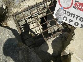 Eingang ins Labyrinth des Minotaurus